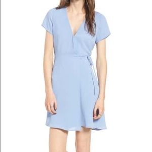 Light blue wrap dress from Nordstrom by Lush